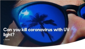 Can you kill coronavirus with UV light?